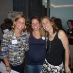 Lindsay from Graco, Julie & Colleen from Classy Mommy smile for the photo
