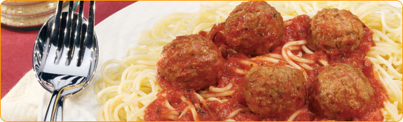 """Meatless"" meatballs - you wouldn't have known if I hadn't told you, right?"