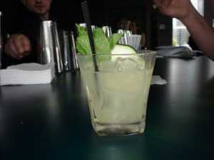 I could use another one of these cucumber mojitos