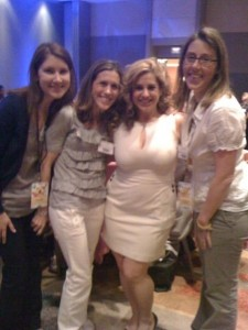Melissa from Girly Mama Blog, Colleen from Classy Mommy, Marissa Winokur & Whitney from Mommies with Style (me!)
