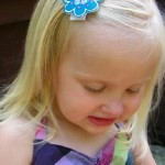Accessorizing and solving baby girl problems with Lilla Hairclips