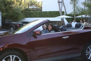 Nancy and Tiffany in the Murano Cross Cabriolet