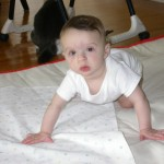 Share Your Baby's Crawling Milestones with Baby Center and Tide