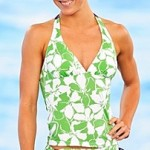 Banzai Pipeline Halter Tankini - $59 for the top, $44 for matching string bottom