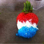 Fourth of July Easy Recipe Fun: Red, White & Blue Strawberries {Video}