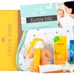 {Giveaway}  Citrus Lane:  Awesome Care Package for Newborns & Older Babies