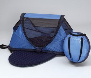 The PeaPod is a pop-out pop-up tent. Available in two sizes the PeaPod comes with an inflated sleeping pad (self-inflating in some models) and a ... & Best Travel Beds For Babies | Mommies With Style