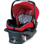 Infant Carrier Review:  the Britax B-Safe