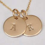 Gorgeous personalized necklaces and more with 20% off Coupon Code