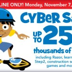 In Case you Missed It:  Toys R US Cyber Monday Sale Extended