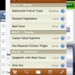 12 Days of iPad Apps, Day Eight: MealBoard Meal & Grocery Planner