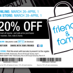 Bloomingdale's Friends & Family – 20% Off
