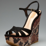 #FashionFriday: Patterned Wedge Sandals