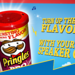 Get a free mp3 speaker from Pringles – LOVE THIS!