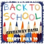 Announcing the 2012 Back to School Giveaway Bash!