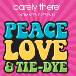 Peace, Love & Tie-Dye Fun from Barely There