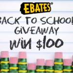 Back to School Giveaway: $100 on @eBates #wingiveaways