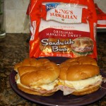 Pre-Game Breakfast Sandwiches with #KingsHawaiian