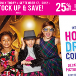 25% Off at Children's Place TODAY ONLY