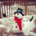 Making A Snowman & Keeping my Hands Dry with @VaselineBrand #Vaseline Plus a #Giveaway!
