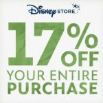17% Off at the DisneyStore.com with Coupon Code GREEN {Today Only!}