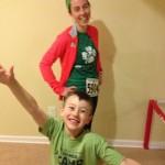 Race #1 Done!  St. Patrick's Day 5k. #13in2013