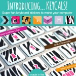 How Cute Are These? Dress Up Your Keyboard with Keycals (15% off Thru April 30)