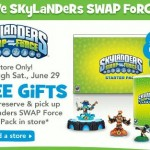 Reserve Skylanders SwapForce at ToysRUs for $1