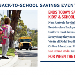 Need a New Lunchbox or Backpack for your Kids? 30% off at LandsEnd.com Ends today