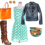 Making My Summer Outfits Work Thru the Fall #FashionFriday