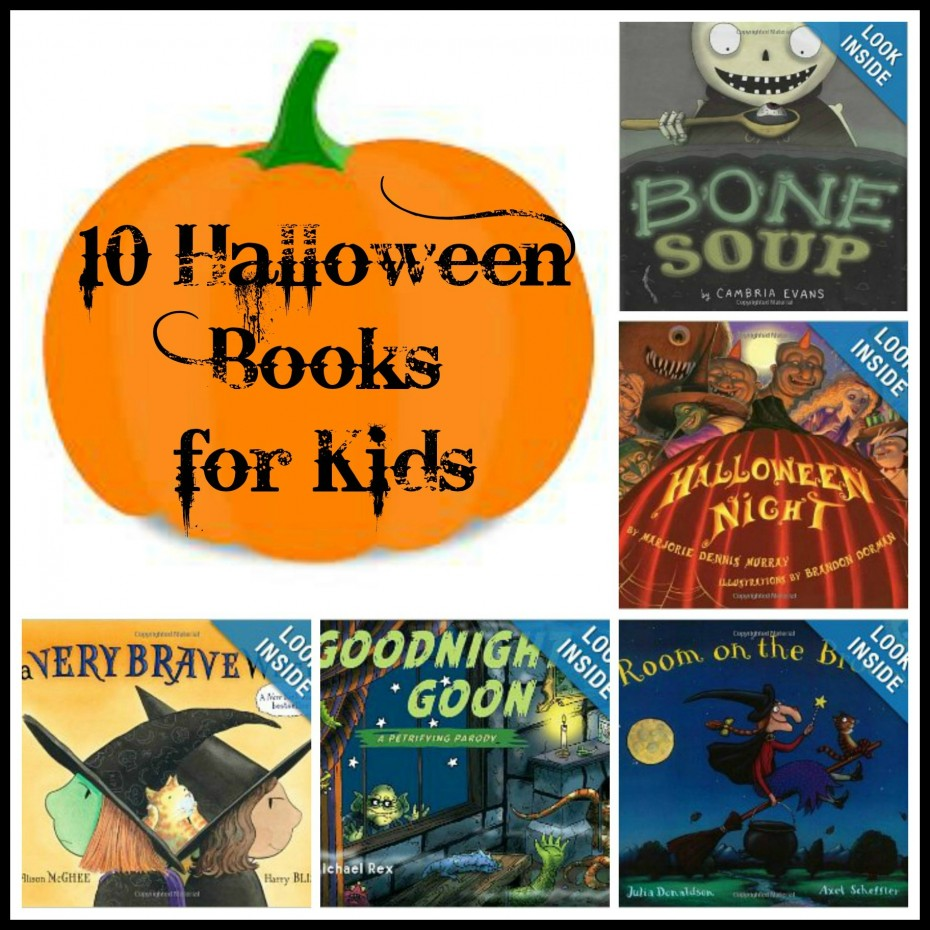10 Spooky Halloween Books for Kids | Mommies With Style