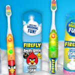 Get Your Kids Excited to Brush with Firefly Toothbrushes @fireflytb