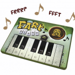 Gross But Funny Gag Gift: Fart Piano Toy