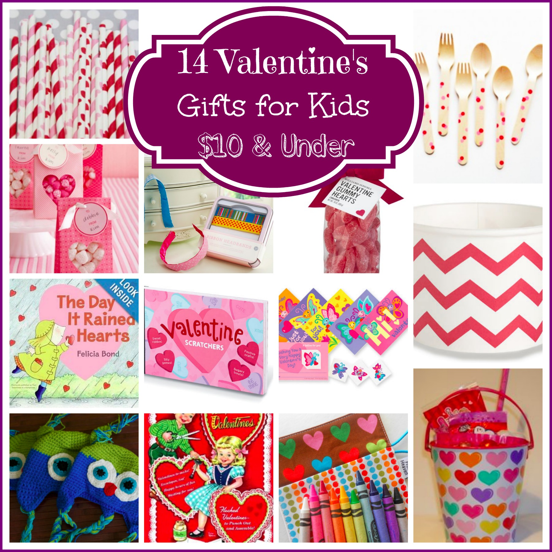 14 Valentine's Day Gifts for Kids $10 & Under | Mommies With Style