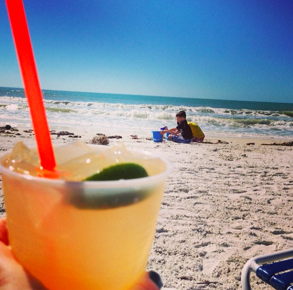 A margarita on Marco Island