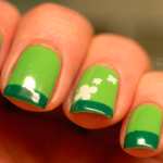 St. Patrick's Day Nails #Pinspiration