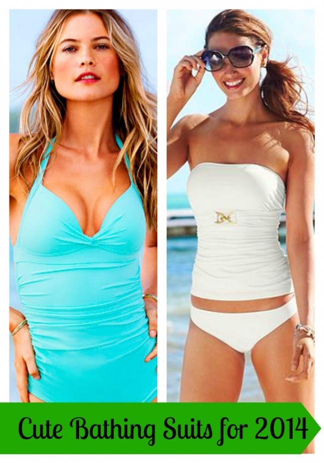 Swimwear featured a variety of embroidered detailing and gilded hardware making this year's suits more glamorous than ever. We pored over our shop to bring you the best of the swimwear trends .