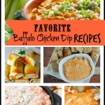 Buffalo Chicken Dip #Pinspiration
