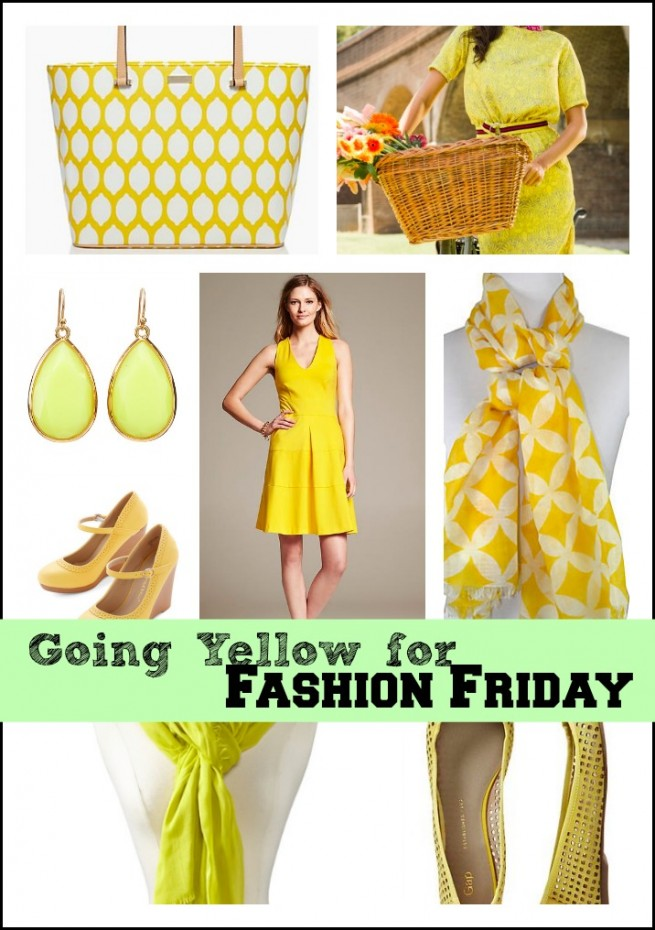 yellowfashionfriday