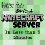 How-To Set Up a Minecraft Server for Your Kids {SO EASY! Less than 5 minutes!}