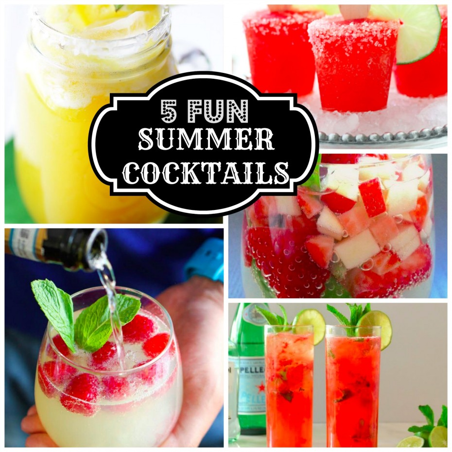 5 fun adult cocktails for summer parties mommies with style for Summer drinks for party