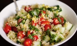 Quinoa Salad and Mediterranean Dressing-5