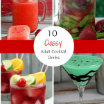 10 Adult Cocktails For Your Next Party