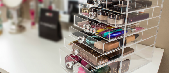 Meet the Makeup Organizer You Didn't Know You Needed (But Do!) #CutieCube