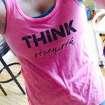 Love the Positivity in this Workout Gear Line: THINK