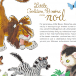 Land of Nod Gets Little Golden Books Designs