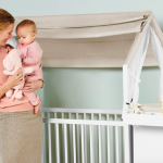 Beautiful Crib Turned Toddler Bed from Stokke Home