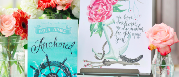 New Book Release Review:  Anchored by Kayla Aimee #AnchoredHope
