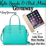Win an iPad Mini & Kate Spade Bag on this Instagram Contest I'm doing