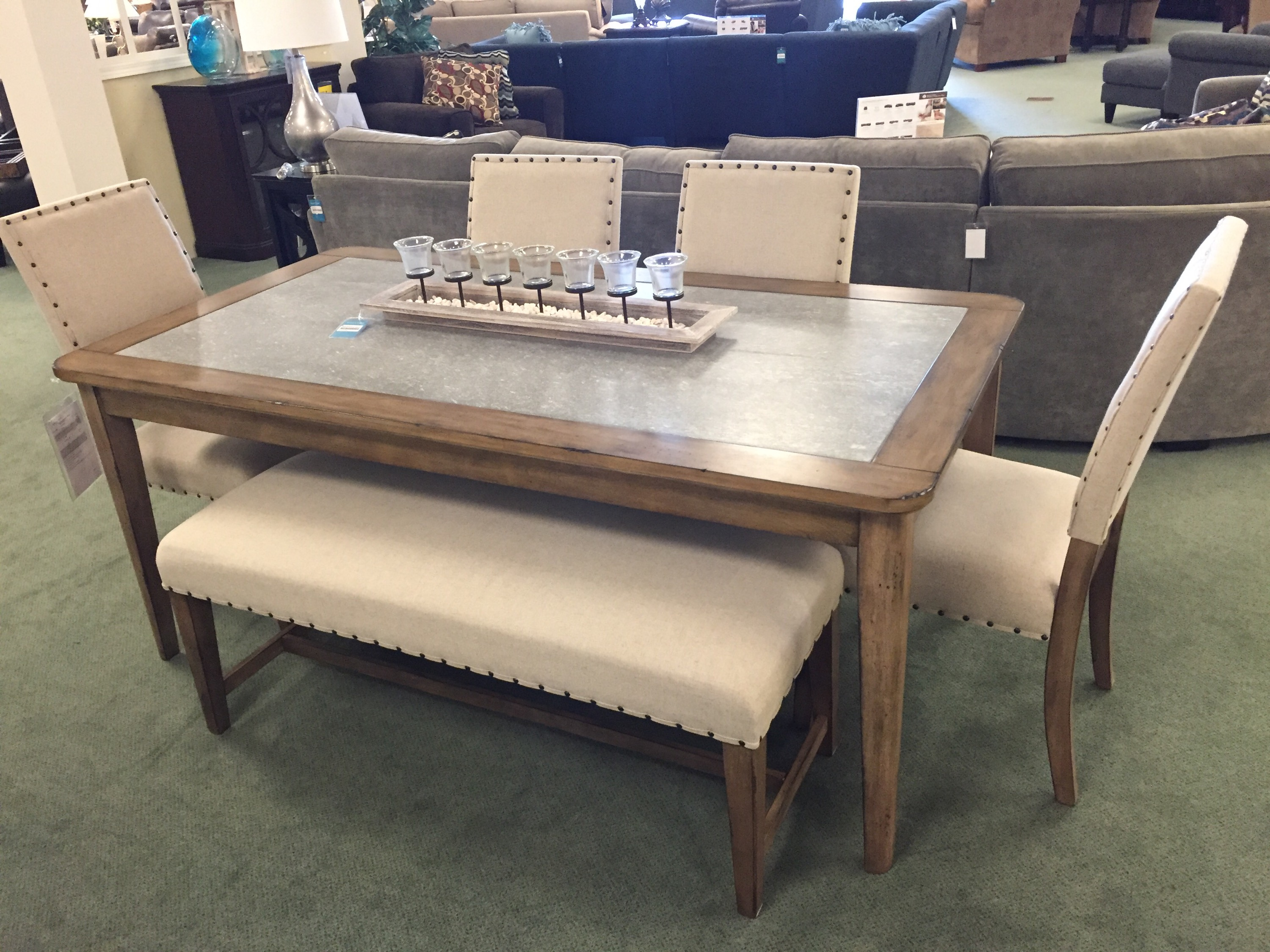 Shopping For My New Dining Room At Raymour U0026 Flanigan #RFBloggers
